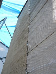 外壁ラス改修工法