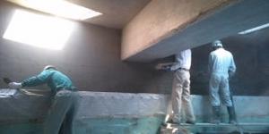 壁、改修工法 特殊モルタル吹付け