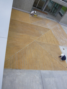 床 デザイン仕上げ